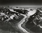 """Baldwin Glacier and unknown glacier (""""Pesoir Glacier""""), Alaska"""