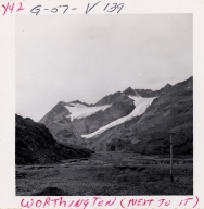 Worthington Glacier, Alaska, United States