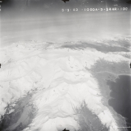 Mount Chiginagak, aerial photograph FL107, Alaska, United States