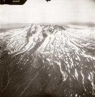 Mount Recheshnoi, aerial photograph FL76, Alaska, United States
