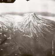 Mount Vsevidof, aerial photograph FL76, Alaska, United States