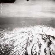 North side of Mount Vsevidof, aerial photograph FL88, Alaska, United States