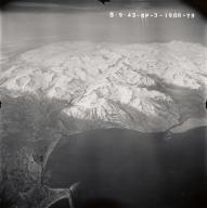 Mount Douglas, aerial photograph FL92, Alaska, United States