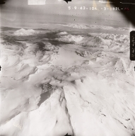 Trident Volcano, aerial photograph, FL95, Alaska, United States