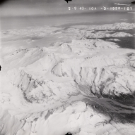 Kuak Volcano, aerial photograph FL96, Alaska, United States