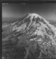 Cowlitz Glacier, aerial photograph FL 86NC1, Washington, United States
