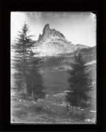 Becco di Mezzodi peak part of Croda da Lago chain, Veneto, Italy