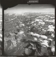 Yanert Glacier, aerial photograph FL 17 L-16, Alaska