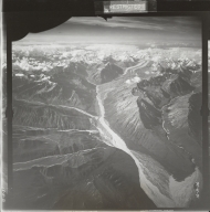 At head of Johnson River, aerial photograph FL 18 R-36, Alaska