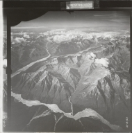 Robertson Glacier, aerial photograph FL 18 V-53, Alaska