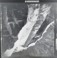 At head of Gerstle River, aerial photograph FL 18 V-24, Alaska
