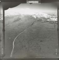 Mount Sanford, aerial photograph FL 19 R-27, Alaska