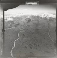 Copper Glacier, aerial photograph FL 19 R-30, Alaska