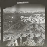 Glaciers in Nutzotin Mountains, aerial photograph FL 27 R-47, Alaska