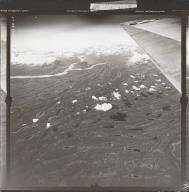 Swentna River and Mount Gerdine, aerial photograph FL 32 L-44, Alaska