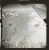 Maclaren Glacier, aerial photograph FL 4 L-18, Alaska