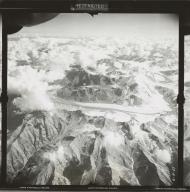 Black Rapids Glacier, aerial photograph FL 4 R-27, Alaska
