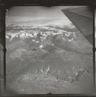 Black Rapids Glacier, aerial photograph FL 7 L-5, Alaska