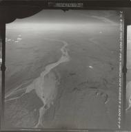 Gakona Glacier, aerial photograph FL 7 R-20, Alaska