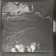 Gakona Glacier, aerial photograph FL 7 V-20, Alaska