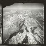 Tired Pup Glacier, aerial photograph FL 9 R-1, Alaska