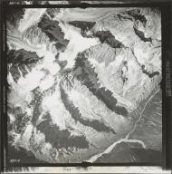 Glacier near Merrill Pass, aerial flight FL 9 V-4, Alaska