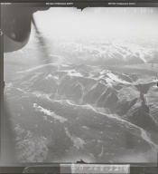 Bell-Irving River, aerial photograph FL 40 L-156, British Columbia