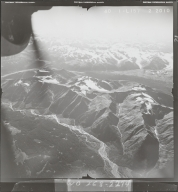 Bell-Irving River, aerial photograph FL 40 L-157, British Columbia
