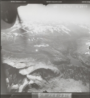 Northeast of Teigen Creek, aerial photograph FL 40 L-163, British Columbia