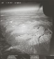 Skeena Mountains, aerial photograph FL 40 R-147, British Columbia