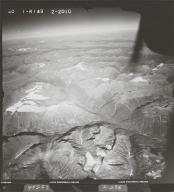Oweegee Creek, aerial photograph FL 40 R-149, British Columbia