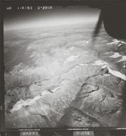 Oweegee Peak, aerial photograph FL 40 R-153, British Columbia