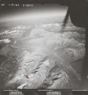 Northeast of Teigen Creek, aerial photograph FL 40 R-162, British Columbia
