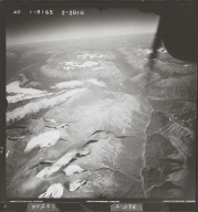 Northeast of Teigen Creek, aerial photograph FL 40 R-165, British Columbia