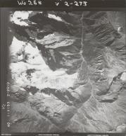 Oweegee Peak, aerial photograph FL 40 V-153, British Columbia