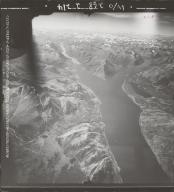 Lake Bennett, aerial photograph FL 47 L-108, British Columbia