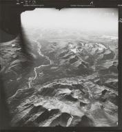 Spatsizi River, aerial photograph FL 49 L-134, British Columbia