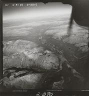 Spatsizi River, aerial photograph FL 49 R-135, British Columbia