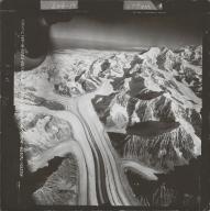 Mount Russell, aerial photograph FL 58 L-1 , Alaska
