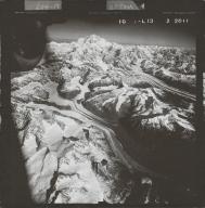 Kahiltna Glacier, aerial photograph FL 58 L-13, Alaska