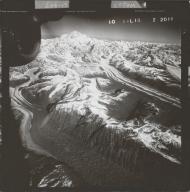 Kahiltna Glacier, aerial photograph FL 58 L-15, Alaska