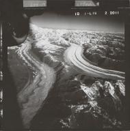 Tokositna Glacier and Ruth Glacier, aerial photograph FL 58 L-19, Alaska