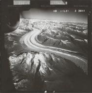 Ruth Glacier, aerial photograph FL 58 L-21, Alaska