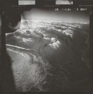 Ruth Glacier, aerial photograph FL 58 L-24, Alaska