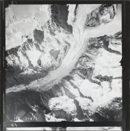 Kahiltna Glacier, aerial photograph FL 58 V-12, Alaska