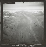 West Fork Yentna River, aerial photograph FL 59 L-30, Alaska