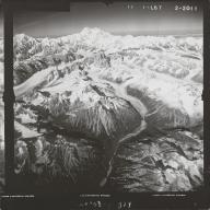 Northeast of Ruth Glacier, aerial photograph FL 59 L-67, Alaska
