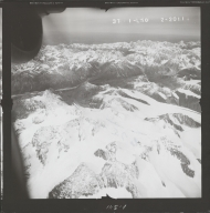 Alaska Range, aerial photograph FL 68 L-50, Alaska