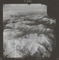 Rainy Pass, aerial photograph FL 68 R-101, Alaska