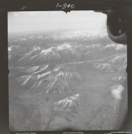 Northwest of Mount Gerdine, aerial photograph FL 68 R-64, Alaska